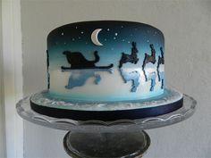 www.cakesbykim.nl - X-mas cake