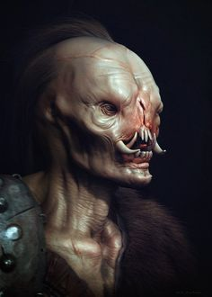 Check out this amazing collection of sci-fi and fantasy CG art featuring several different cyborg and creature designs. The illustrations were created by artist Ali Zafati , and I thought you might like them, so here ya go. Creature 3d, Creature Feature, Creature Concept, Creature Design, Monster Makeup, Monster Face, Aliens, Alien Creatures, Fantasy Creatures