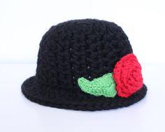 Wool winter crochet hat  Great Gatsby 1920's by MsAmandaJayne, $40.00