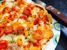 Cuisine Ma-Ligne!: Tortipizza WW Jambon,tomates et mozzarella (8PP ou...