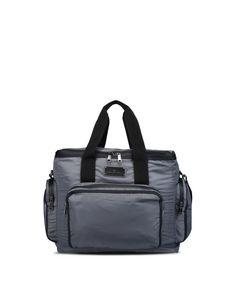 Adidas By Stella McCartney   Black Large Grey Gym Bag   Lyst Stella  Mccartney Adidas, eabae7a023