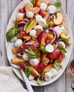 Peach Tomato Caprese