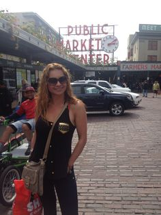 Pike Place Market in Downtown Seattle. I love this city.