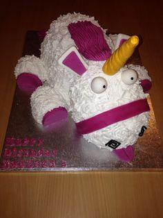 Unicorn (Despicable Me) cake