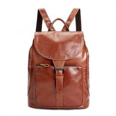 Cheap genuine leather backpack 5b247f015459