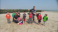 Giochi in spiaggia!