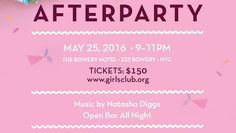 After the Spring Fling is the After Party - http://art-nerd.com/newyork/after-the-spring-fling-is-the-after-party/