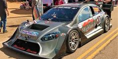 Watch This AWD Nissan GT-R-Powered Ford Focus Race Car Hit Pikes Peak