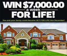 PCH 10 Million Sweepstakes Entry - Bing images Instant Win Sweepstakes, Online Sweepstakes, Pch Dream Home, Dream Homes, Lotto Winning Numbers, Lotto Numbers, Win For Life, Lottery Winner, Publisher Clearing House