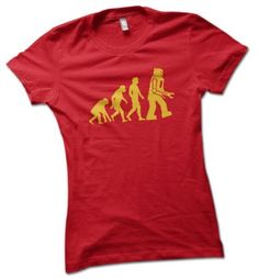 Robot Evolution Ladies T-Shirt Red Small 8 - 10 bybulldog, http://www.amazon.co.uk/dp/B005IPUH7I/ref=cm_sw_r_pi_dp_3vAZqb1Z4B3N7