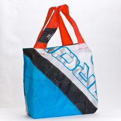 The Upcycled Tote from Limited Edition is a one-of-a-kind bag handmade from reused or reclaimed kiteboarding sails. Each kite is carefully dismantled, washed and dried, then the Ripstop nylon from the sail is hand-cut and sewn into a nautical carryall—all done in Limited Edition's workshop in sunny California. Completely water resistant,  durable and crafted with  bold colors, this bag is intended for those who care for the environment & truly want to help rid the ocean of plastic pollution…