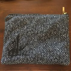 ✨SALE✨NWOT ICB New York Clutch This has never been used - I won it from Glamour and have never had a chance to use it. It's very cute and a perfect addition to any closet. ICB Bags Clutches & Wristlets
