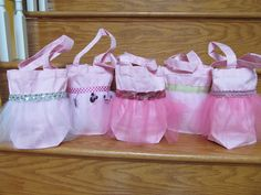 Ballet Party Favor Bags. $7.00, via Etsy.