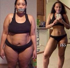 Be careful when you clown a big girl. Remember the body is clay, the gym and your diet is the knife.