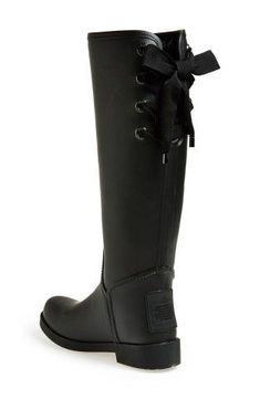 COACH 'Tristee' Waterproof Rain Boot, Would these work in your fall wardrobe? keep.com/...