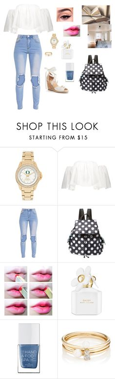 """The First Babysitting Job~Over The Garden Wall"" by gravityfallsgirl33 ❤ liked on Polyvore featuring Bag Studio, Marc Jacobs, The Hand & Foot Spa and Loren Stewart"