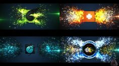 Glowing Particle Logo Reveal 11 by bilalmarri After Effects Projects, After Effects Templates, Optical Flares, Neon Logo, Logo Reveal, Glow, Company Logo, Neon Signs, Animation