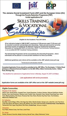 Apply for the @JSIFJA #Tertiary #Scholarships for the 2017 academic year. $16Million on offer. Deadline August 14th