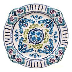 Mood Indigo Round Platter