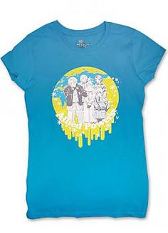 Hetalia T-Shirt - Allied Powers Earth (Junior L)