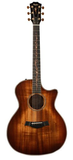 TAYLOR K24ce Grand Auditorium ES2 Hawaiian Koa Acoustic-Electric | Chicago Music Exchange