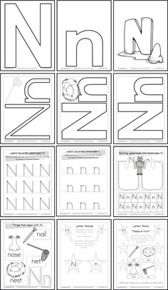 letter n pattern use the printable outline for crafts creating stencils scrapbooking and. Black Bedroom Furniture Sets. Home Design Ideas