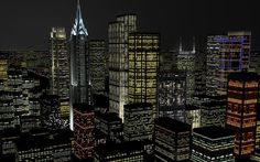 gotham city skyline - Google Search