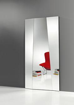 Avatar miroir mural rectangulaire en verre biseaut for Miroir mural rectangulaire grande taille