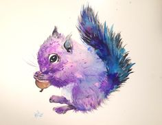 Squirrel by Kristina Broza