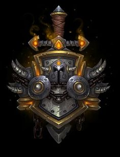 Warrior crest world of warcraft