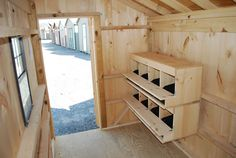 We have continued to plan the details of our chicken hen house/chicken runs. Description from minifarmlife.com. I searched for this on bing.com/images