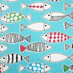 Tela FQ :: fish :: de nosgustanlosretros por DaWanda.com
