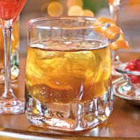 Clementine-Brown Sugar Old-Fashioned