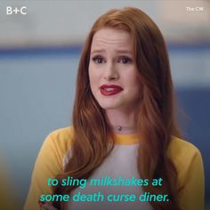 ICYMI, Madelaine Petsch is WAY goofier than her Riverdale character, Cheryl Blossom. 😜 <<< I am a HUGE Harry Potter fan too! Cheryl Blossom Riverdale, Riverdale Cheryl, Bughead Riverdale, Riverdale Funny, Riverdale Archie, Riverdale Quotes, Riverdale Aesthetic, Riverdale Characters, Riverdale Cole Sprouse