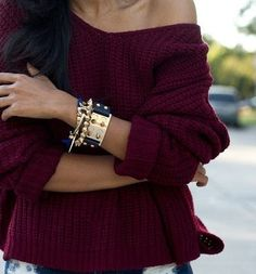 Deep color of winter