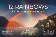 Ad: Rainbows for Photoshop by FEINGOLD Shop on A bundle of customizable easy-to-use high-quality rainbows for Photoshop. This perfectly prepared material will make creating many different Business Illustration, Photo Illustration, Illustrations, Business Brochure, Business Card Logo, Write An Email, Web Design Studio, List Template, Templates