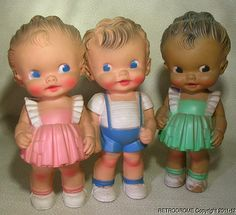 Sun Rubber Co.-Ruth Newton dolls. sold for 84.00.
