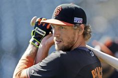 5. RF Hunter Pence, San Francisco Giants