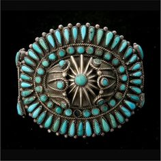 Native American turquoise jewellery