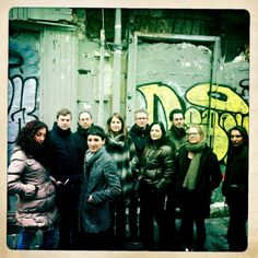 From left to right: Rebecca Silenzi, Svend Andersen, Nicolas Kermabon, Marta Jimenez, Barbara Siegel, Lieven Bossuyt, Sandrine Cornillot, Eloi Du Bois, Sara Vlamings, Danielle Delferrière © Richard Dumas :)