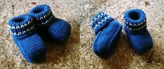 Sweater Booties and Cap Set