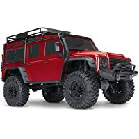 LAFEINA 1:10 Scale Front Bumper with Tow Shackles for 1//10 RC Crawler Car RC4WD D90