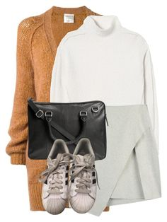 """""""Untitled #1879"""" by sully99 ❤ liked on Polyvore featuring Forte Forte, Rebecca Taylor and adidas"""