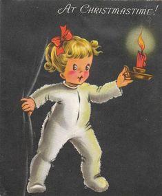 Christmas Card, 1958   von RabbitRaiments