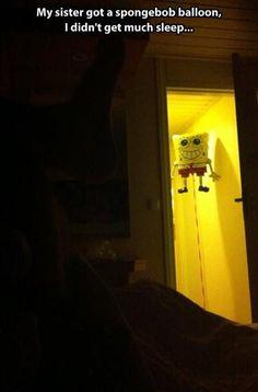 Spongebob will terrorize your dreams