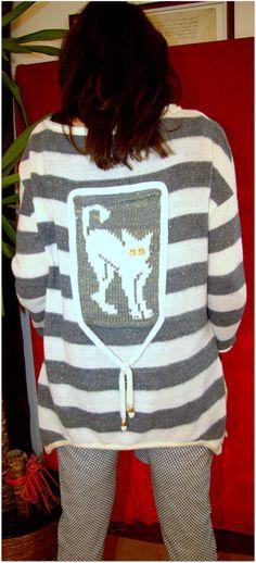 sweater, Design Julia Brusenzewa Sweater Design, Christmas Sweaters, Knitting, Fashion, Moda, Tricot, Fashion Styles, Christmas Jumper Dress, Breien