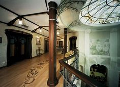 "chariscope: "" Art Nouveau Style House Villa Liberty near Moscow, Russia """