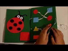 Livro Sensorial em EVA - YouTube
