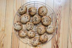 Cookies moelleux à l'okara [VEGAN]   Dans la cuisine d'Enalia Muffin, Eggs, Vegetables, Breakfast, Food, Kitchens, Cursive Alphabet Letters, Morning Coffee, Essen