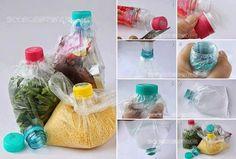 50 Objetos útiles y creativos hechos con botes de plástico